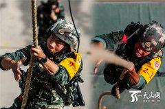 直击武警兵团总队军事训练大比武