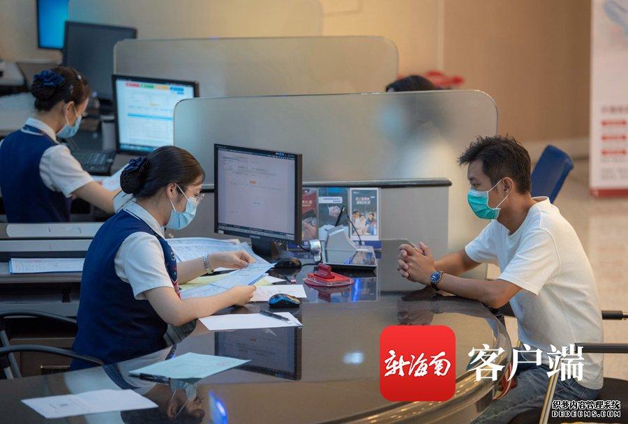 访交通银行海南省分行党委书记、行长苏为祥